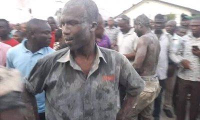 Collapsed Port Harcourt 7- Storey Hotel Owner Joe Allogoa In Shock