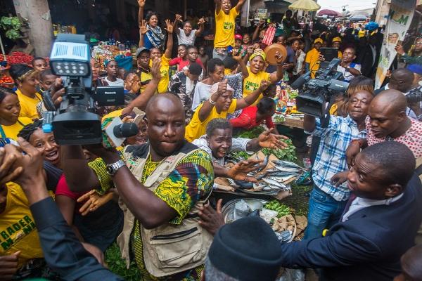 Prof. Osinbajo hits Warri, Asaba With Trader Moni