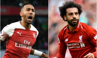 Salah's Liverpool Face Aubameyang's Arsenal, Man City Tests