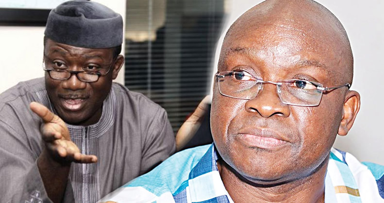 Fayemi's Aide Describes Fayose's Ignorance In Governance As Legendary