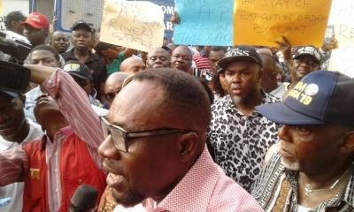 Rivers APC Candidates In Peaceful Protest, Barricade INEC Demand To Be